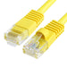 Patch Cord  |  Cat5e,  Snagless,  Yellow  100ft - Conversions Technology