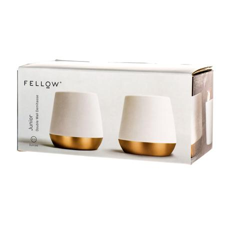 Fellow Junior | 2oz Matte White Copper | Set of 2 - Ecru BeansEcru Beans