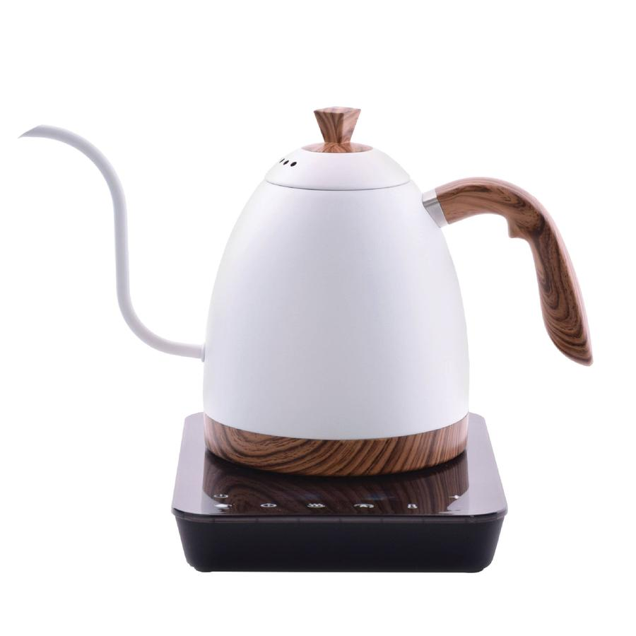 Brewista Artisan 900ml Gooseneck Variable Kettle Matte - Ecru Beanspour overEcru Beans