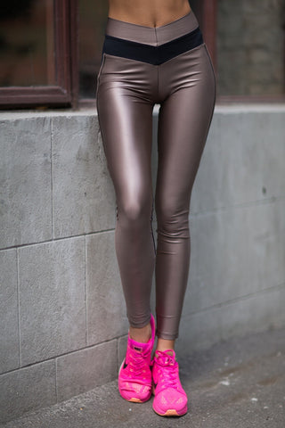 Leggings DISCO NUDE