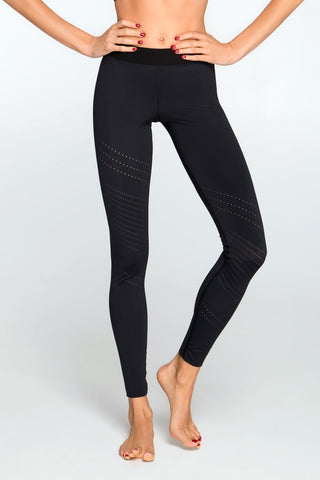 Leggings PIXELATION NERO