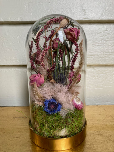 Dried Flower Cloche #12 (small)