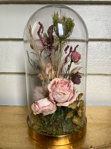 Dried Flower Cloche #13 (Large)