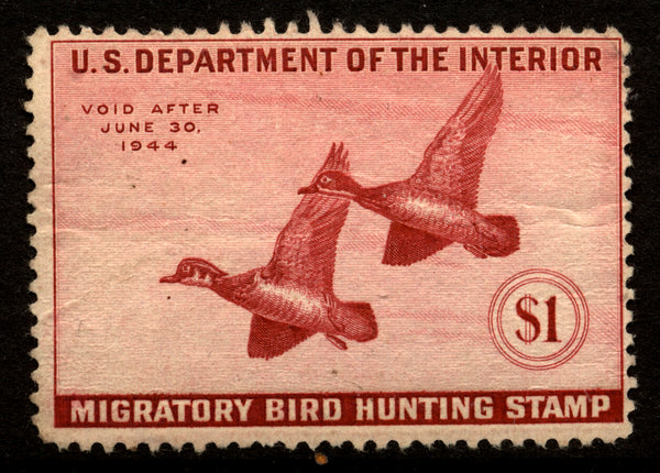 US RW10 Duck stamp F-VF OG Mint NH