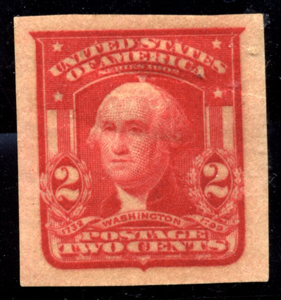 US Scott 320 Washington Imperforated Mint Hinged $15.00