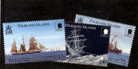 Falkland Islands Scott 758-760 Ships Mint NH