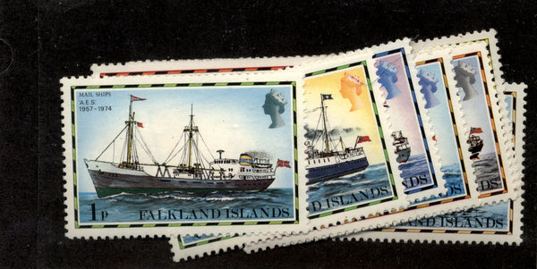 Falkland Islands Scott 260-74 Ships Mint NH