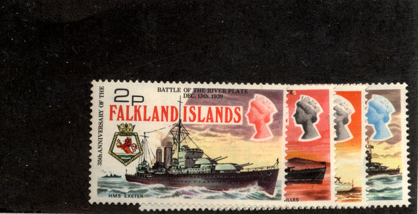 Falkland Islands Scott 237-40 Ships Mint NH