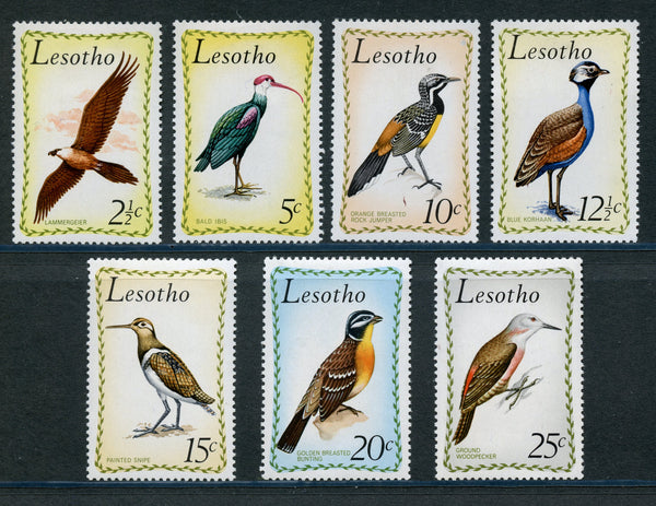 Lesotho Scott 105-111 Birds mint Never Hinged
