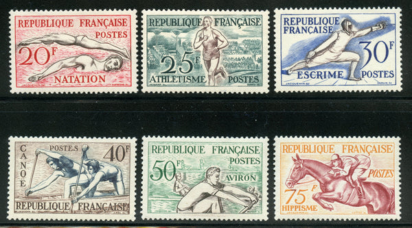 France 700-705 Scott 960-65 Ceres Mint NH Set