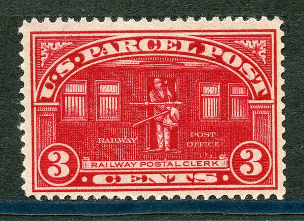 US Q3 F-VF Mint small thin Railway
