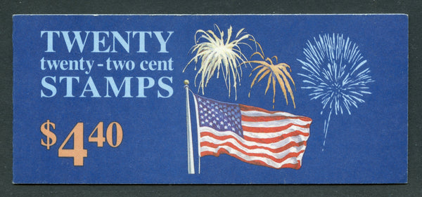 US BK155 Congratulations Unexploded Booklet Flag