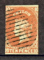 Ceylon Scott 10 Victoria Used stamp Lovely condition