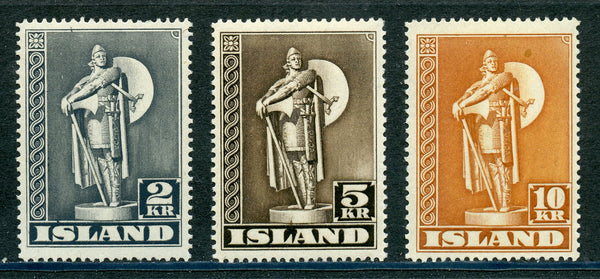 Iceland Scott 229-31 Mint NH Complete Set