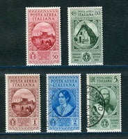 Italy Scott C35-39 Mint Except C37 & 39 Used
