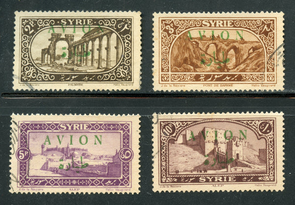 Syria Syrie Scott 26-29 VF used set