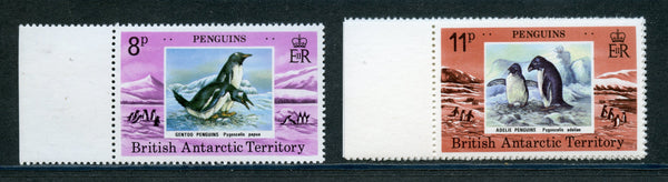 British Antarctic Territory Scott 72-75 Penguins Mint NH