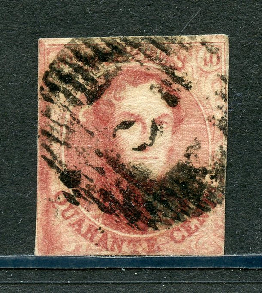 Belgium/Belgique Scott 12 VF Used stamp Cat $80.00