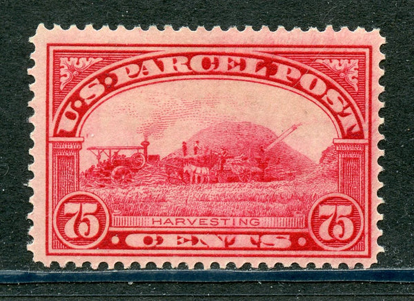 US Scott Q11, 75¢ PARCEL POST, Gorgeous Color OG, NH