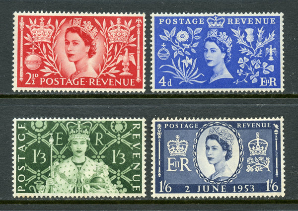 Great Britain Scott 313-16 QEII Mint NH