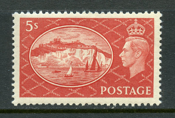 Great Britain Scott 287 King George VI Lightly mounted Mint