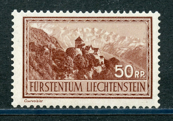 Liechtenstein Scott 125 Castle Mint LH