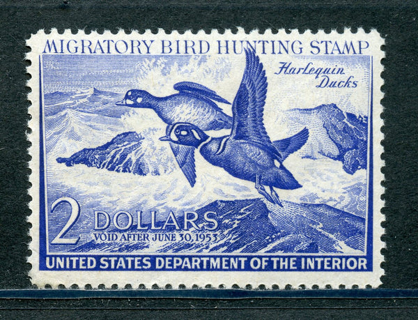 US RW19 Duck Stamp VF OG Mint NH Stamp