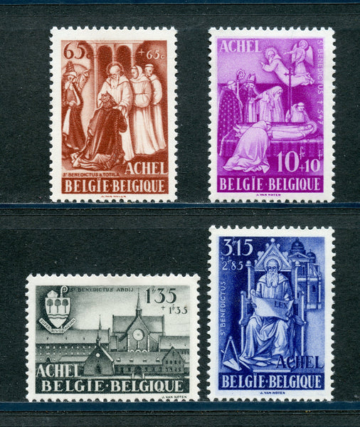 Belgium Belgique Scott B447-50 Mint LH