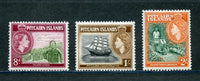 Pitcairn Islands Scott 27, 28, 29 Mint NH