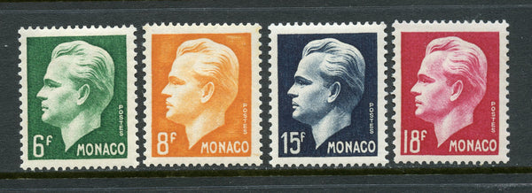 Monaco Scott 276-79 Imperf. Set Mint NH