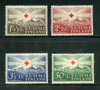 Finland Scott B35-38 Mint NH Red Cross