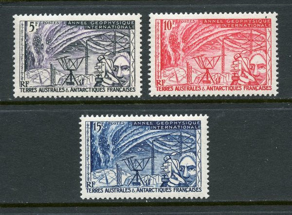 French South. & Antarctic Territory Scott 8-10 Mint LH