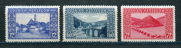 BOSNIA & HERZEGOVINA Scott 62-4 VF Mounted Mint