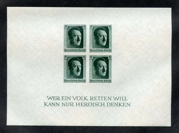 Germany Scott B103 sheet Mint VF NH
