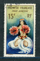 French Polynesia Scott C30 VF Used Costume