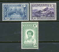 Ethiopia Scott 281-83 Mounted mint