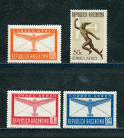 Argentina Scott C49-52 Mounted Mint Set