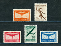 Argentina Scott C38-42 Mounted Mint Set