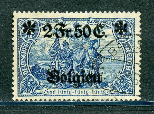 Belgium Scott N24 German Occupation Used