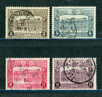 Belgium Scott Q176-79 Used Set