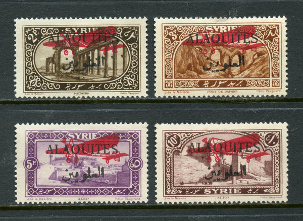 Alaouites Syria Syrie Scott C9-12 Mounted Mint Set