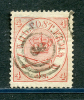 Denmark Scott 13 VF Used