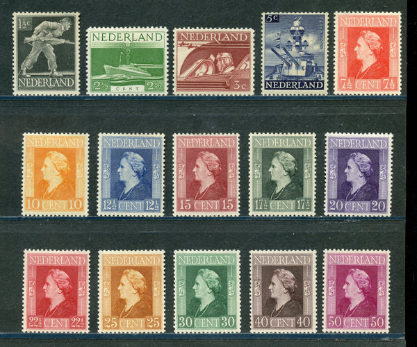 Netherlands Scott 262-76 Mint NH