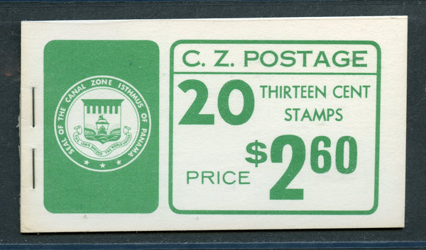 US Canal Zone 163a Booklet Very Fresh