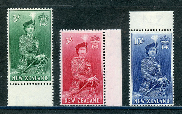 New Zealand Scott 299-301 High Values mint NH