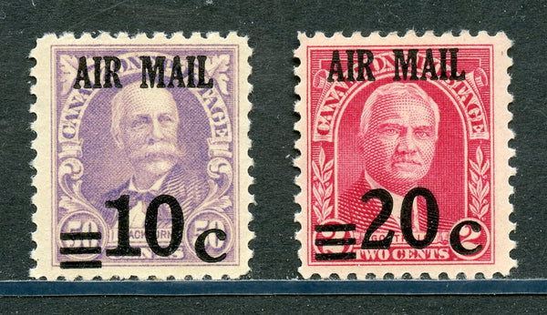 US Canal Zone C4-5 Mint NH Set