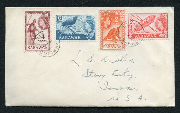 Sarawak Attractive Topical 1958 Cover