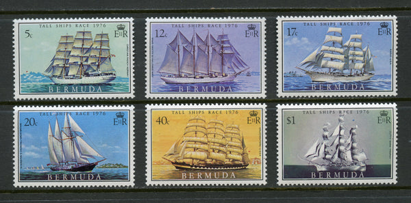 Bermuda Scott 337-42 Ships Mint NH