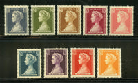 Monaco Scott 391-99 Princess Grace Mint NH Set