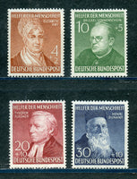 Germany Scott B327-30, Mi 156-9 Mint NH Set